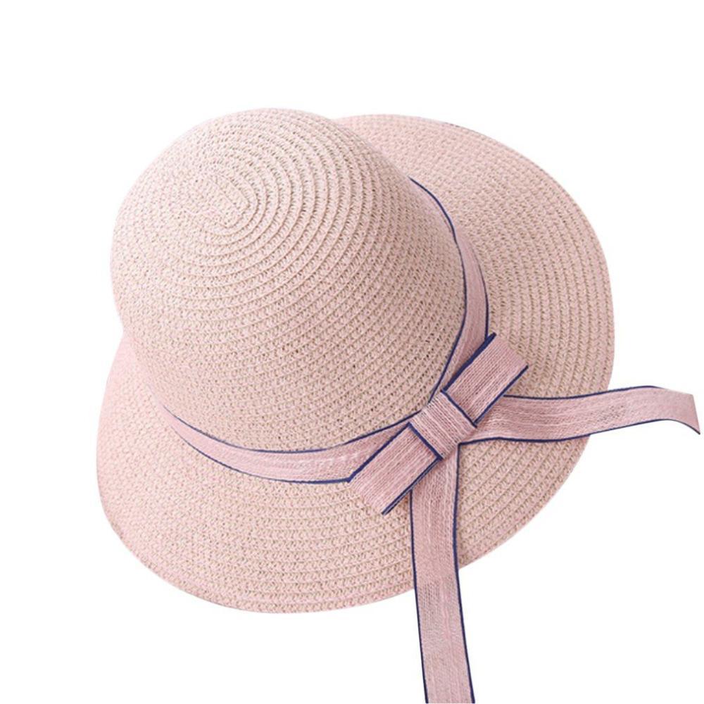 Summer Vacation Travel All Match Women Straw Hat Fisherman Hat Outdoor  Beach Sun Sunscreen Ribbon Decoration Winter Hats For Women Beach Hats From  ... e7530b104ae