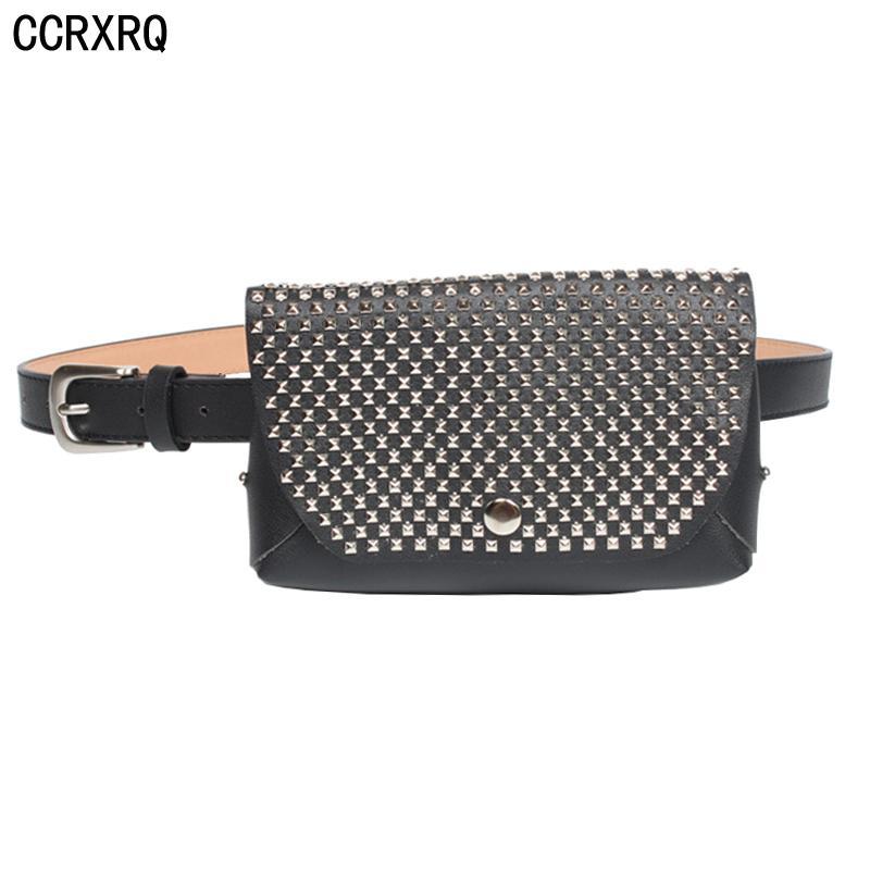 CCRXRQ Belt Bag Women Fashion Fanny Pack High Quality PU Leather ... 901502ac47