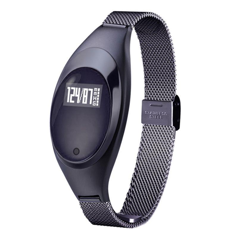 Al por mayor-pulsera elegante del reloj del ritmo cardíaco Z18 monitor de oxígeno de la presión arterial Original impermeable Inteligente Pulso para iOS Android