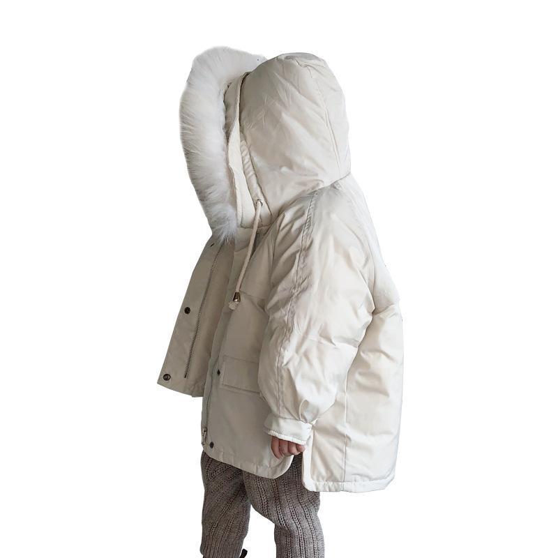 more photos 390d2 18c27 Piumino invernale Parka per bambina Cappotti, 90% Piumini Abbigliamento  bambino per snow Wear Capispalla per bambini Cappotti CA525