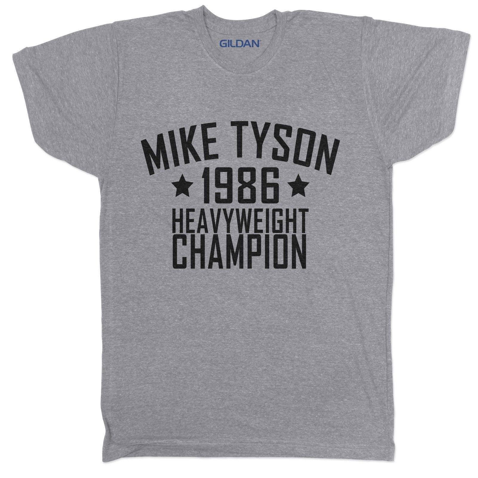 caddd9fd The Rock Tyson Boxing Brooklyn Gym WWF MMA UFC Bodybuilding T Shirt Tee S  It T Shirts From Notkillape, $11.01| DHgate.Com