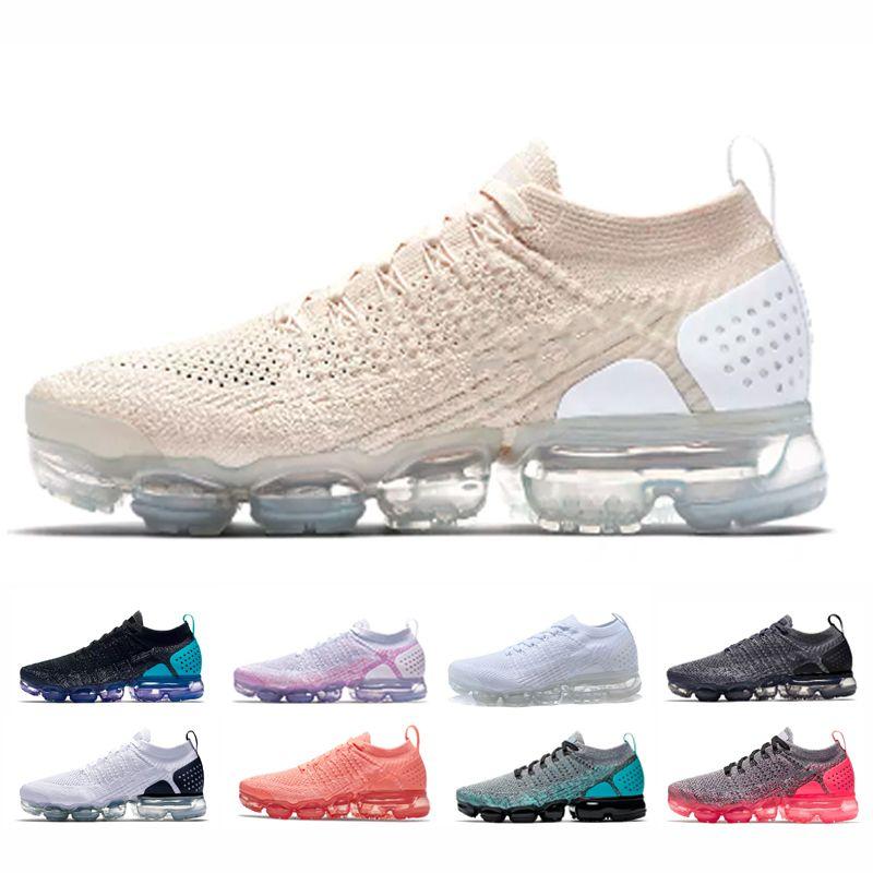 ee2724c15c256 Compre Nike Air Max Vapormax 2.0 Envío Gratis Hombres Mujeres Cojín Rojo  Órbita RACER AZUL Blanco Negro Deportes Zapatillas Light Cream Betrue Hot  Punch ...