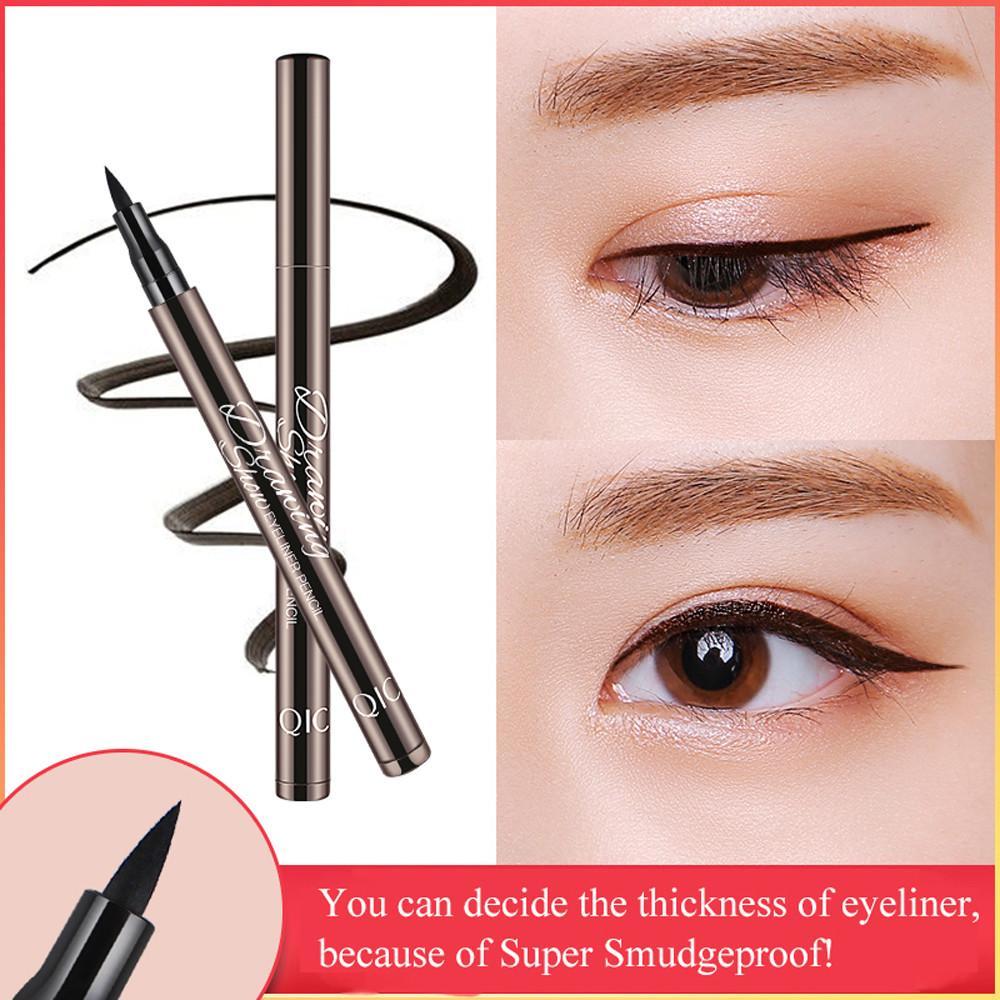 NEW Waterproof Beauty Makeup Cosmetic Eye Liner Pencil Black Liquid Eyeliner Pen Easy To Color Waterproof Long Lasting Gift Eye Make Up Eye Makeup Tutorial ...