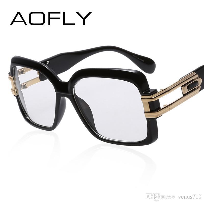 f1f23c8c8d Wholesale- AOFLY Eye Glasses Women Square Frame Fashion Designer ...