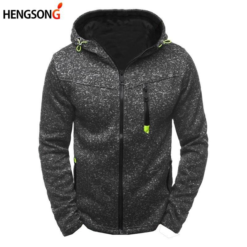 804ed979bf86f 2018 New Autumn Winter Sports Jackets Coats For Men Running Jacket ...
