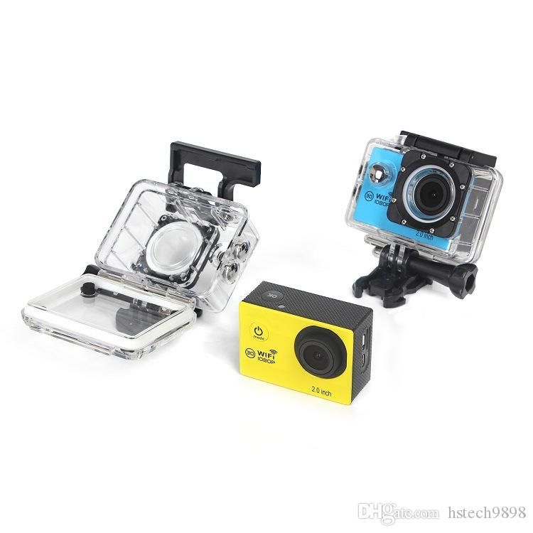 Sports cameras H16 140 degree wide-angle lens 2.0 inch HD LCD sports DV Full HD 1080P 30m waterproof outdoor action video camera