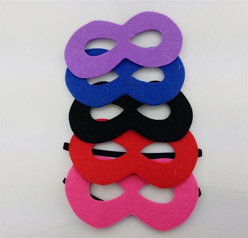 Olmayan Dokuma Çocuk Göz Maskesi Cadılar Bayramı DIY Cosplay Masquerade Vizard Maskeleri Çocuklar Için Kostüm Partisi Noel Doğum Günü Dekor Oyuncaklar 0 8dk YY