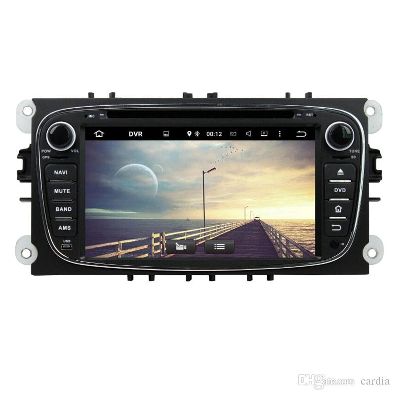 Car DVD player for Ford Mondeo Octa-core 7inch Andriod 8.0 Octa core 4GB RAM with GPS,Steering Wheel Control,Bluetooth,Radio