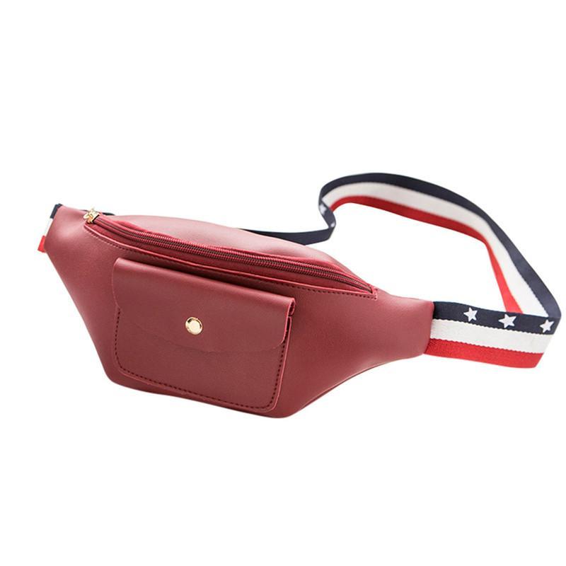 2018 Neueste Mode Frauen Hüfttasche Pu-leder Tasche Gürtel Taille Tasche Damen Tragbaren Telefon Fall Weibliche Bum Hip Bauchtasche Sac Gepäck & Taschen