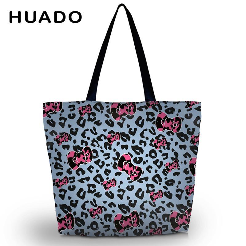 Leopard Soft Foldable Women S Shopping Tote Bag Large Shoulder Carry Bag  Lady Reusable Handbag Pouch Cheap Wholesale Handbags Wine Bags Wholesale  From ... 8158255d41