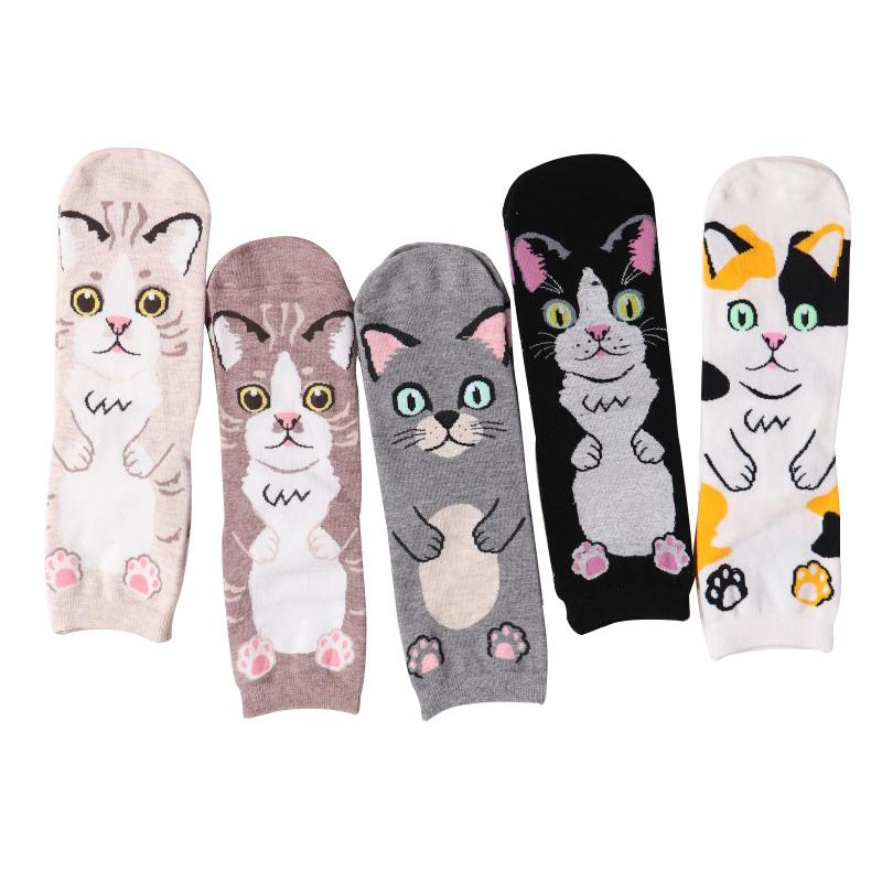 d146b41ce New 2018 Harajuku Cotton Women Socks Cat Face Pattern Socks Personality  Female Calcetines Women Autumn Winter Sock Meias Women Socks Cotton Women  Socks ...