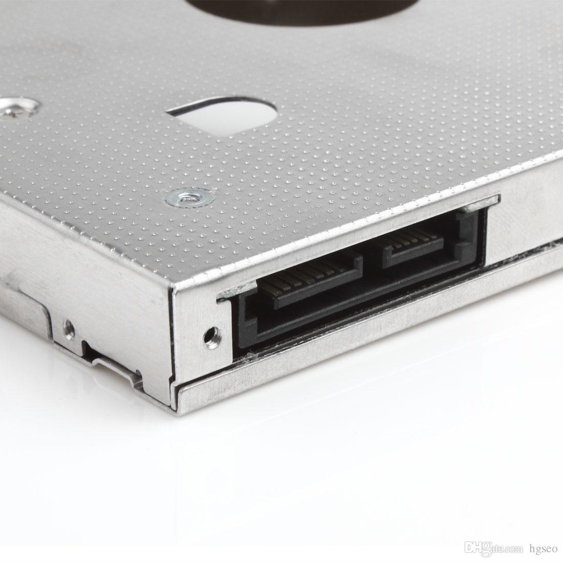 Adattatore caddy disco rigido hard disk SATA HDD universale da 12,7 mm / 0,5 pollici Lenovo Thinkpad T520 W520 CAS_900