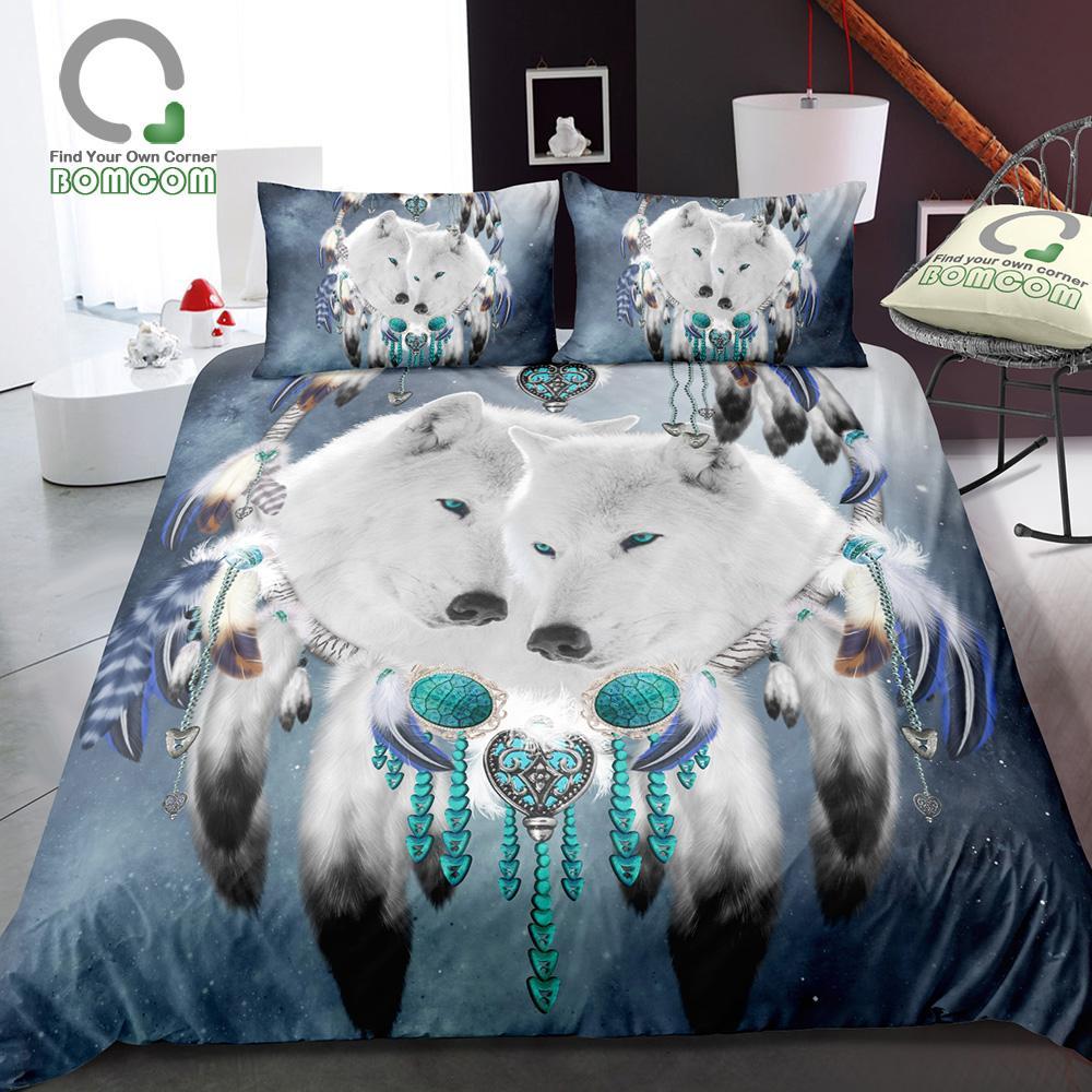 Blue Dream Cielo Stellato Costo.Acquista Stampa Digitale Bomcom 3d Boho Boemia Dream Catcher White