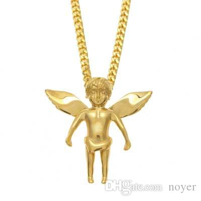 Wholesale mens hip hop jewelry baby angel shape pendants european wholesale mens hip hop jewelry baby angel shape pendants european and american style stainless steel hiphop chain necklaces accessories pearl jewelry chunky aloadofball Gallery