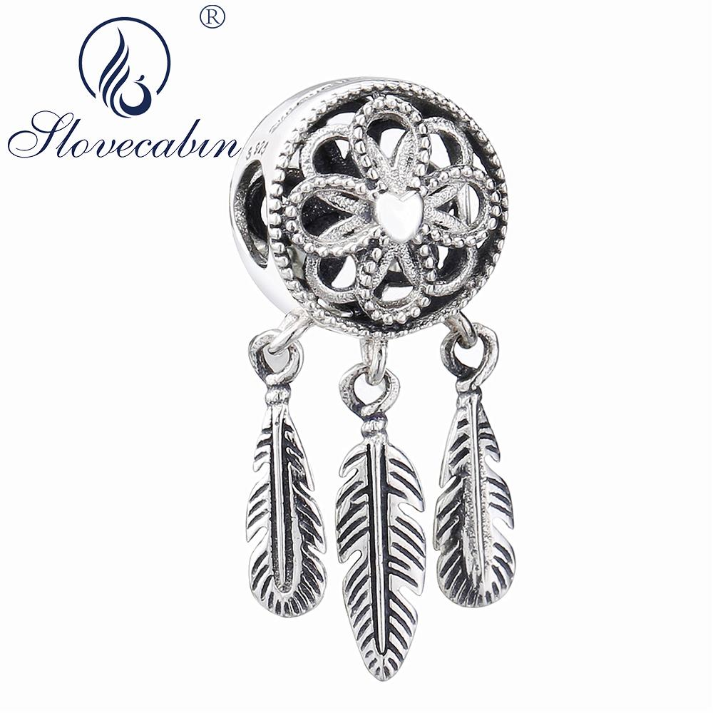 f3724b466 2019 Slovecabin 2018 Summer Spiritual Dream Catcher Dangle Charm Pendants  925 Sterling Silver Making Jewelry Fit Charms Bracelet From Haydene, ...