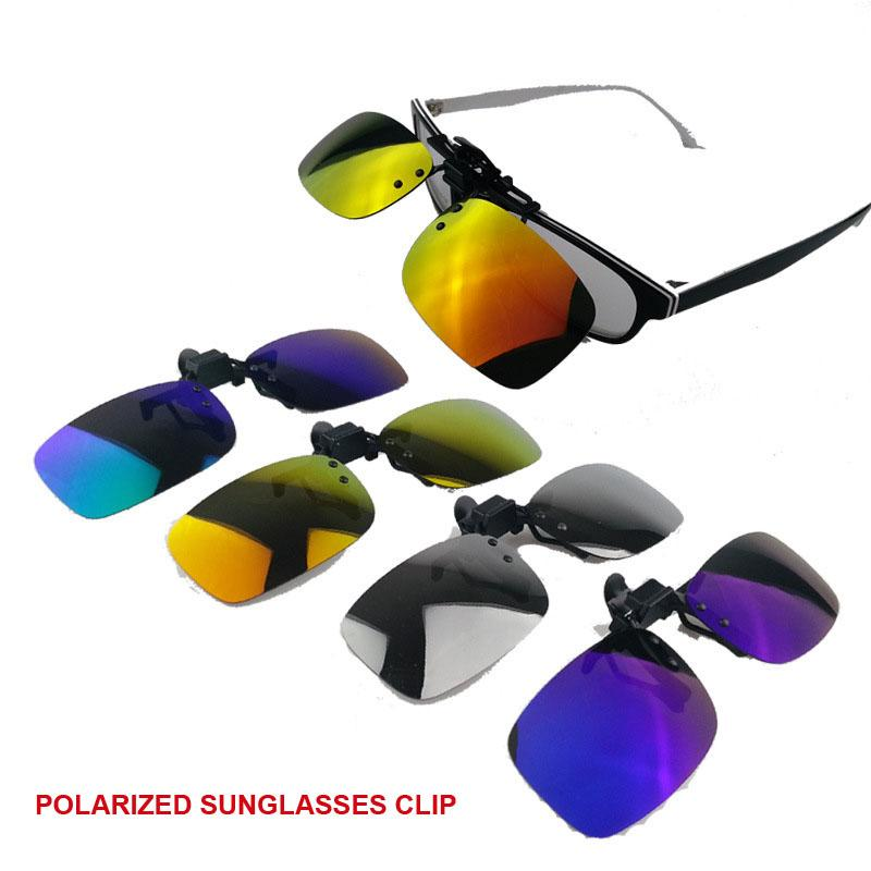 f82cbc2afb2 Polarized Sunglasses Clip On Myopia Glasses For Fishing Driving Traveling  Night Vision Easy Flip Up Sunglass Oculos Sunglasses Uk Polarised Sunglasses  From ...