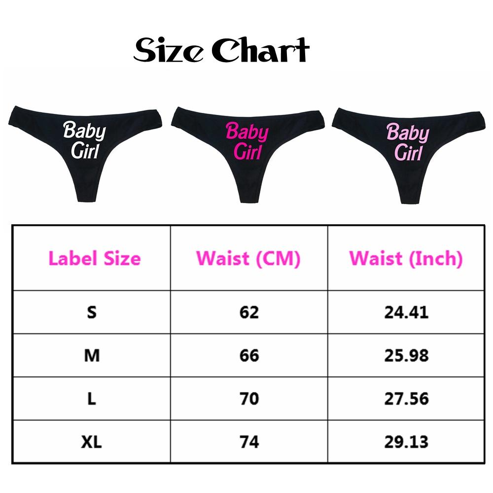 Sexy Women's Panties Letter Printed Briefs Pants Babydoll Sexy Underwear Sleepwear Swimwear Thongs Panties