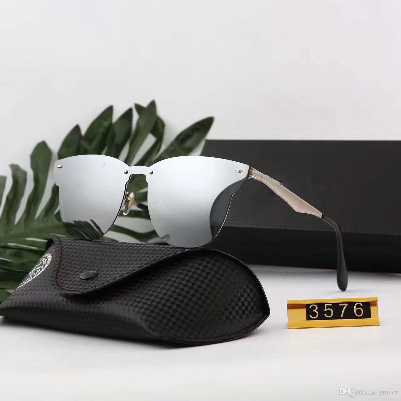 Großhandel 2018 Hot Ray 3576 Verbietet Aviator Sonnenbrille Vintage ...