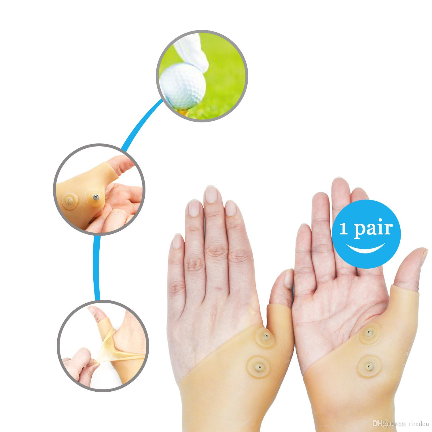 magnetic therapy Hand massager glove pain relief glove hand supportor Hand Massager Toiletry Kits H167