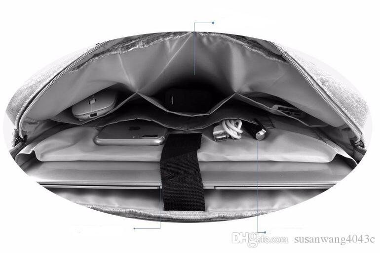 Качество противоударный водонепроницаемый портфель для ноутбука сумка для Macbook Ipad Air Pro 13,3 14 15,6-дюймовый ноутбук сумка на плечо чехлы для планшетов DN010