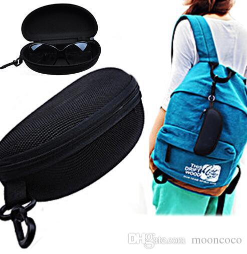 Sunglasses bags Reading Glasses Carry Bag Hard Zipper Box Travel Pack Pouch Case