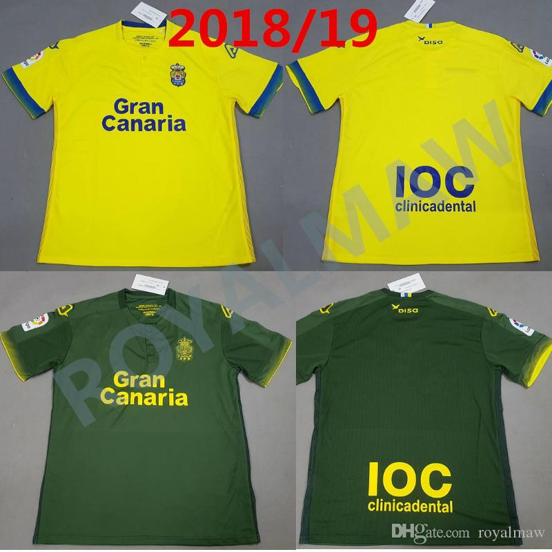 2019 2018 19 UDLP 1ª Camiseta La Equipación 2ª Spain UD Las Palmas Football  Shirt Home Away 1819 Soccer Jersey ARAUJO GÓMEZ TANA CALA Equipacion From  ... 0820cdcf5001c