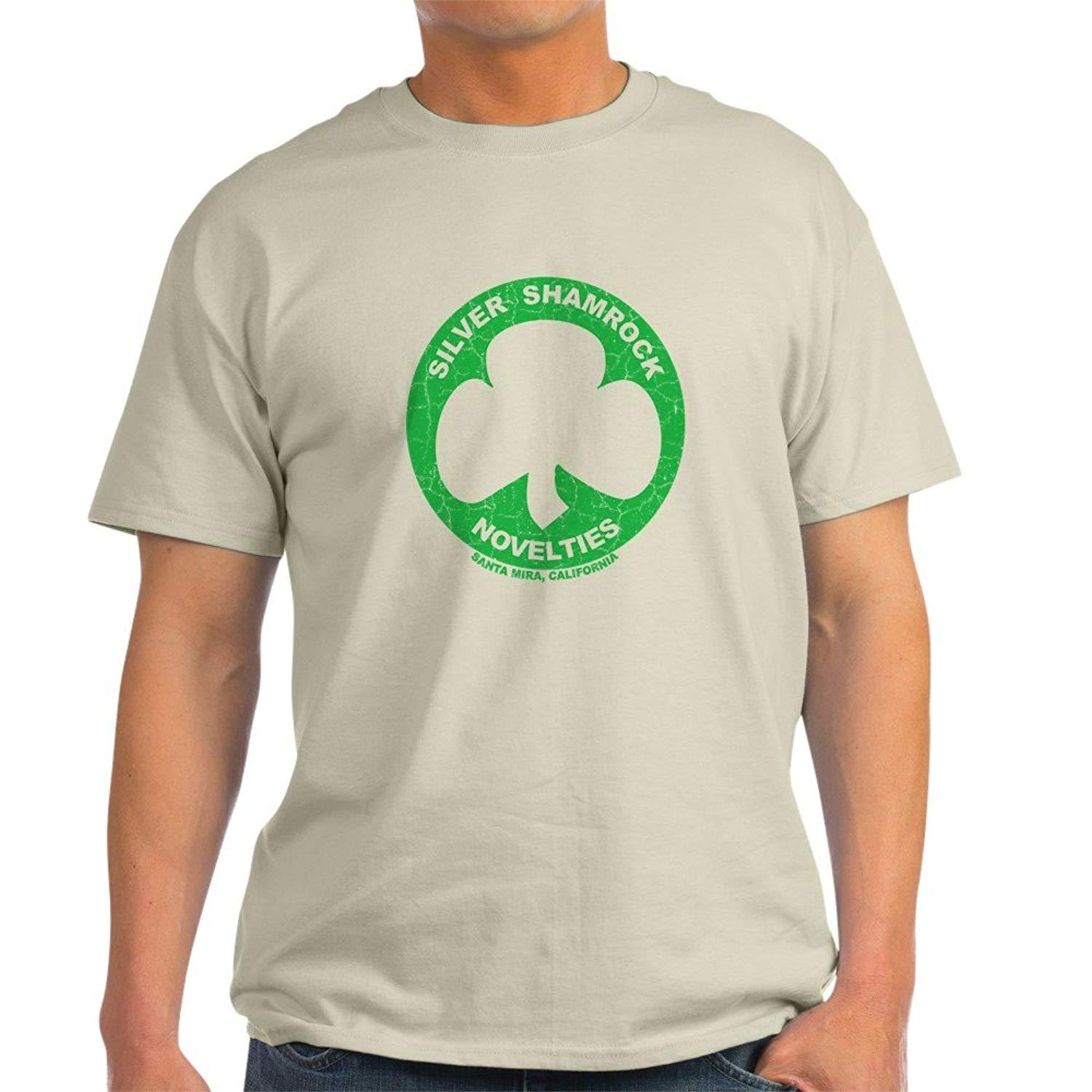cda581bd CafePress Silver Shamrock Faded Light T Shirt 100% Cotton T Shirt Random T  Shirts Poker T Shirts From Allthingsgood, $11.01| DHgate.Com