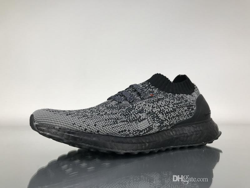 premium selection 020b9 4f56a High Quality 2018 Ultra Boosts Uncaged Mens Running Shoes Ultraboost Black  Trainers Women Navy Multicolor Sports Sneakers