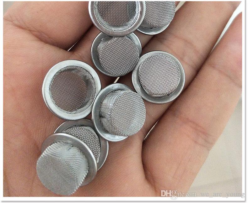 Экраны для курения чаша формы кварц Кристалл курительная трубка табак металлические фильтры аксессуары для курения 15 мм 16 мм 17 мм круглый диаметр
