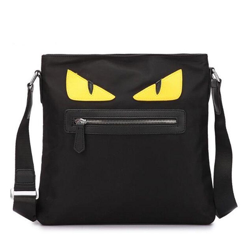 Newest Luxury Brand Fendy Monster Handbags Luxury Oxford Cloth ... 0691f95b7ed95