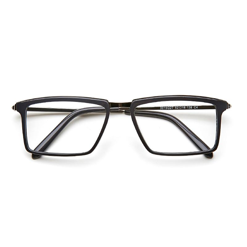 046990859b Glasses Frames Men Acetate Eyeglasses Frame Optical Eyewear Black ...