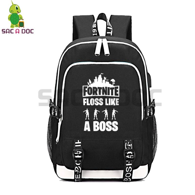 Fortnite Floss Like A Boss Multifunction Backpack Usb Charging