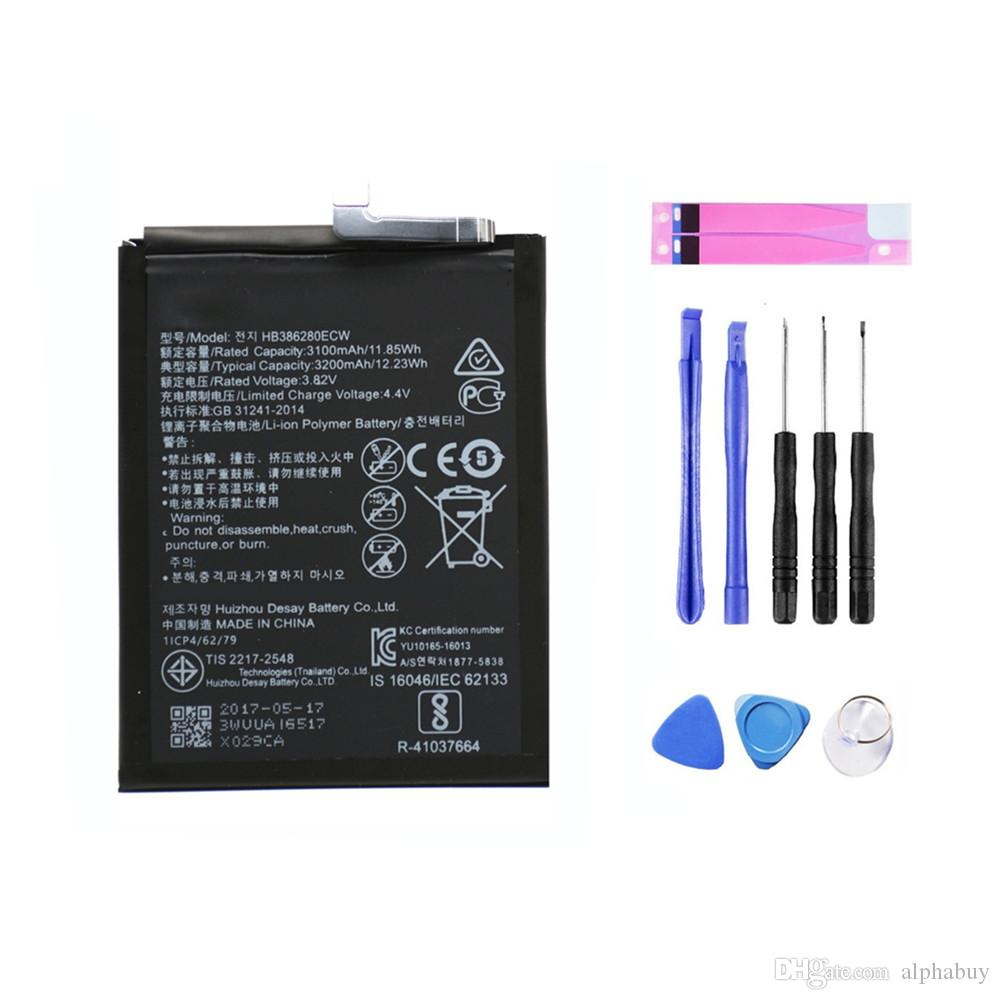 OEM Replacement Battery HB386280ECW For HuaWei P10 Honor 9 3200mAh 3.8V + Free Tools Fast