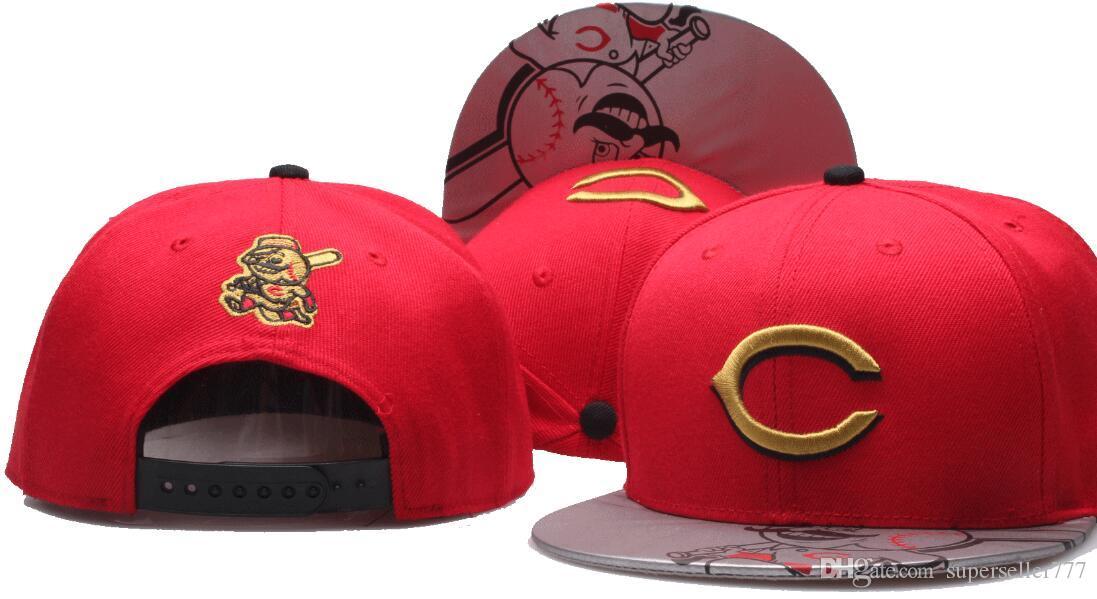 Compre Nueva Marca De Diseño De Cincinnati Hat Cap Hombres Mujeres Gorras  De Béisbol Snapback Solid Colors Algodón Hueso American American Fashion Hat  002 A ... 54c771c168f