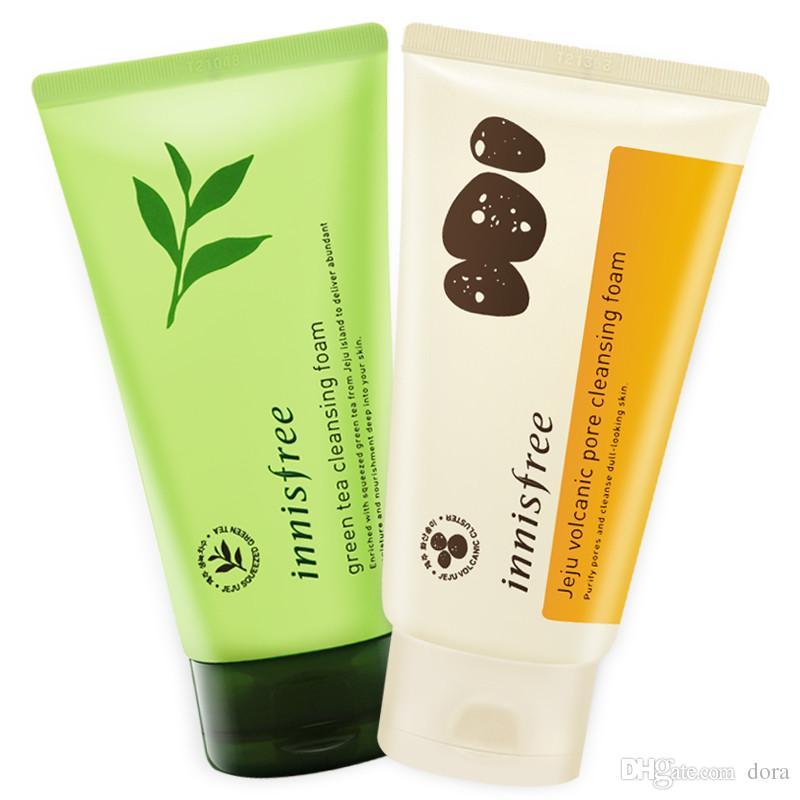 c469cf68bcb 2018 INNISFREE Jeju Volcanic Pore Cleansing Foam Olive Real Cleasing Foam  Green Tea Cleaning Cleanser Facial Foam Face Cream Facial Cleaning Facial  Cleanser ...