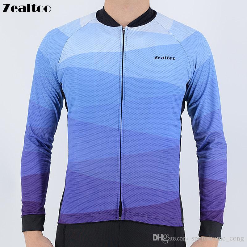 6ae8cf60b Zealtoo 2018 Men Ropa Ciclismo Racing Bike Jersey Cycling Jerseys ...