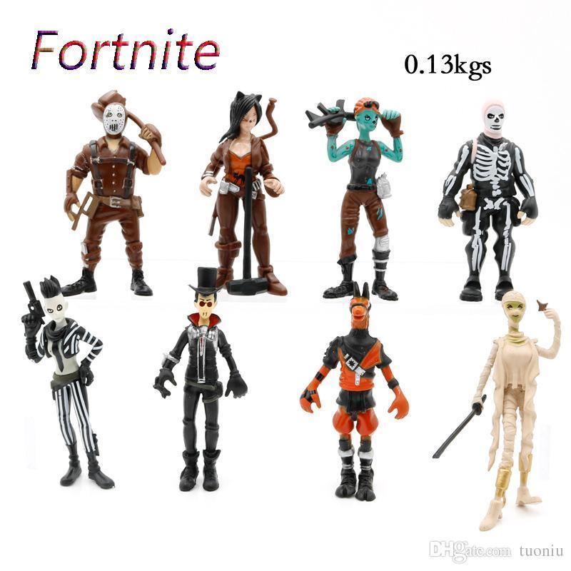 Compre 8 Juguetes Fortnite Plastic Doll 2018 Funko Pop