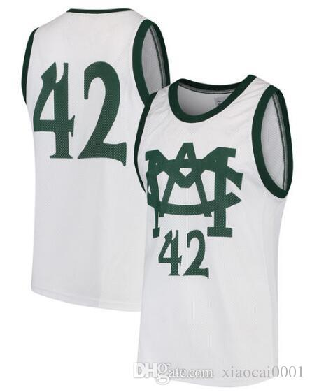 fa69f6b396c Men s Retro White Michigan State Spartans College Vault MAC  42 ...