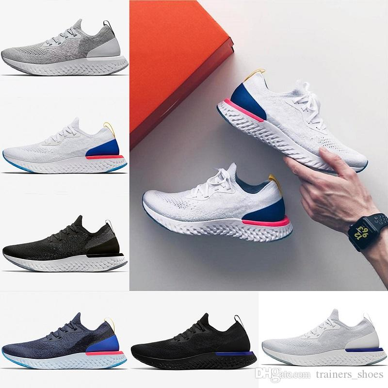 Epic React men women sneaker black white grey Running shoes mens women Casual Athletic Jogging Sports shoes size 36-45 cheap online for sale the cheapest online free shipping outlet locations b9mmTN2