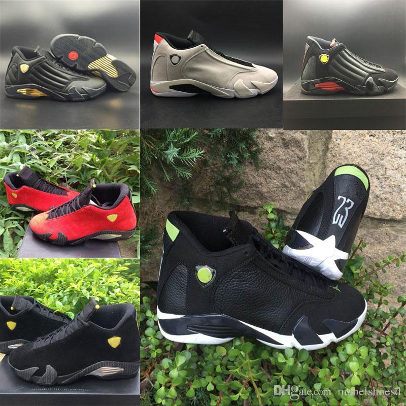 4dcd6a05f3ce25 2018 Mans 14 14s Basketball Shoes The Last Shot Desert Sand DMP ...