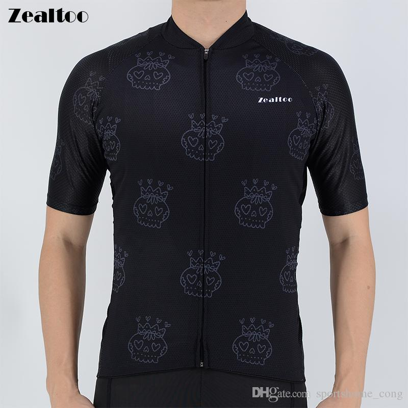 493a37af0 Zealtoo 2018 Pro Short Sleeve Cycling Jersey Summer Bicycle Maillot ...