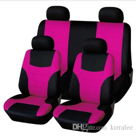 Universal Classic Car Seat Cover Protector Styling Covers Set Fluorescent Pink Seats Sets For Infants From Kirralee