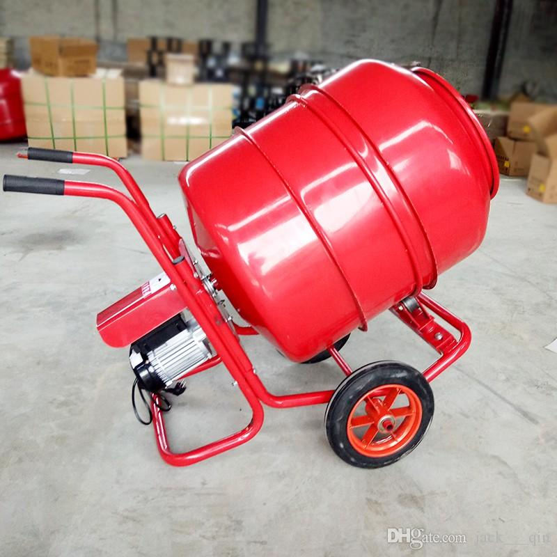 portable electric concrete mixer 160L Cement Mixer Mortar feed Mixing  Machine good quality free shipping 110v/220v