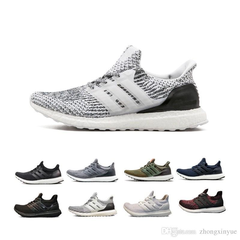 9dab52d69b5f9 Ultra 3.0 Green Oreo Running Shoes 4.0 White Grey Black White CNY ...