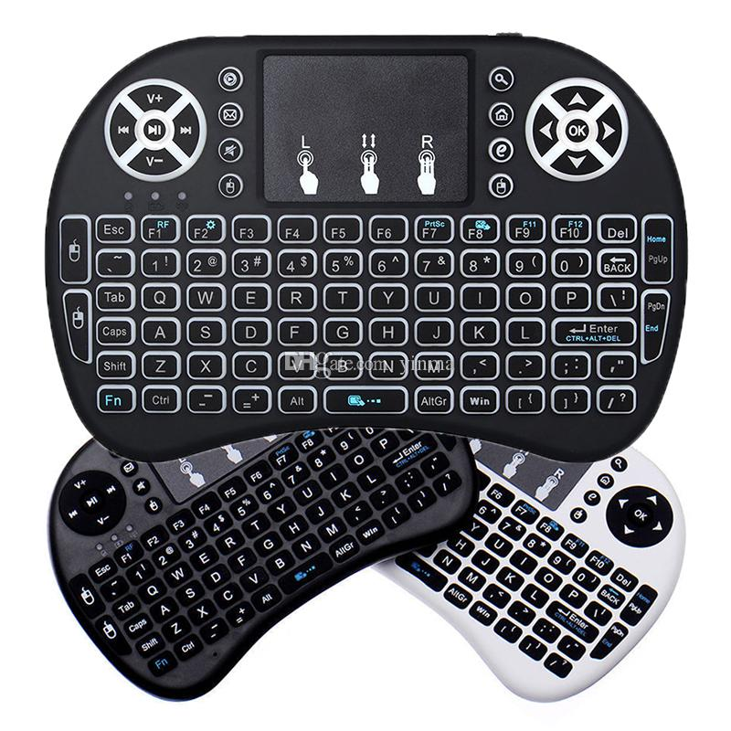 522bea27ca8 Rii I8 Mini 2.4GHz Wireless QWERTY Keyboard Air Mouse Remote Control  Touchpad For Pad Android TV Box Xbox 360 PS3 HTPC IPTV Medical Keyboard  Membrane ...