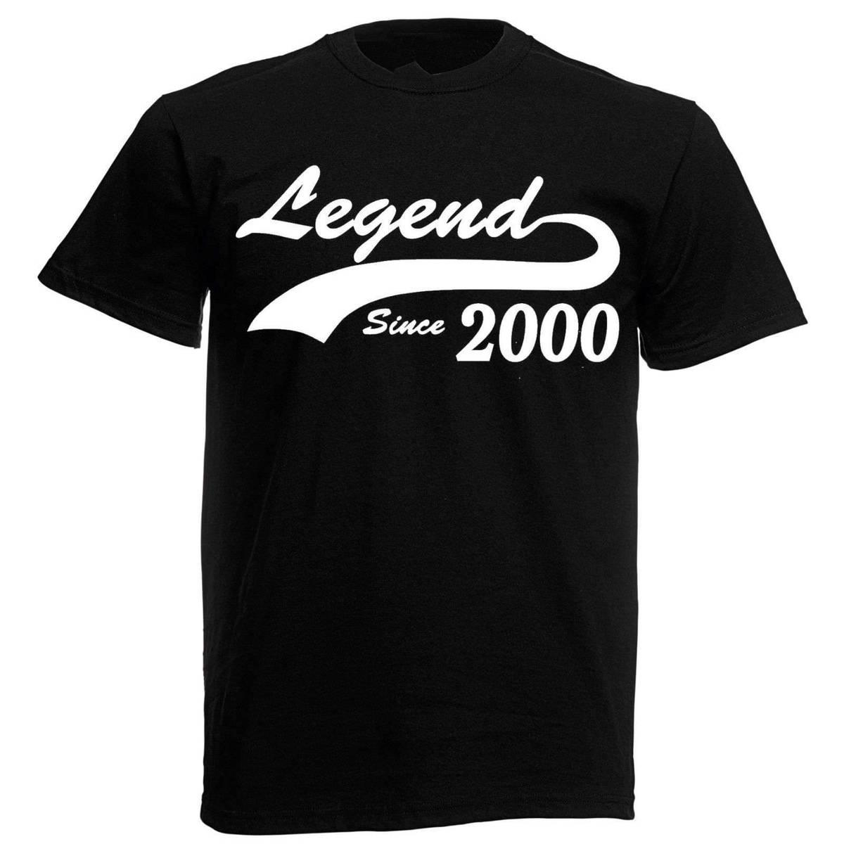 Legend 2000 T Shirt Mens 18th Birthday Gifts Presents Gift Ideas For Men Boys Fashiont Shirts And From