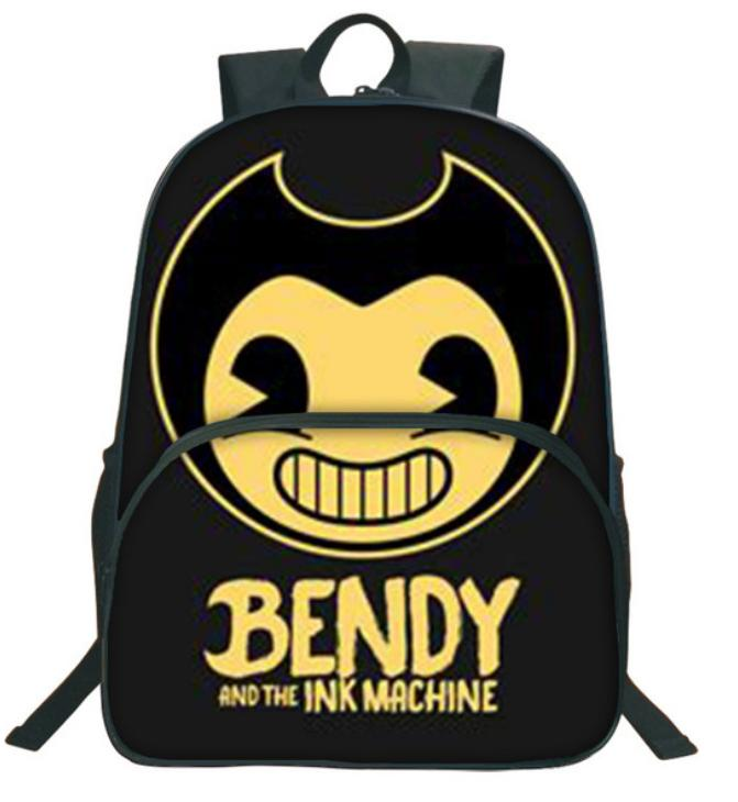 b72d4b437867 2018 Children School Bags Bendy And The Ink Machine Backpack Student Book  Backpack Daily Backpack Cartoon Mochila School Gifts Gf29 Childrens  Suitcases ...