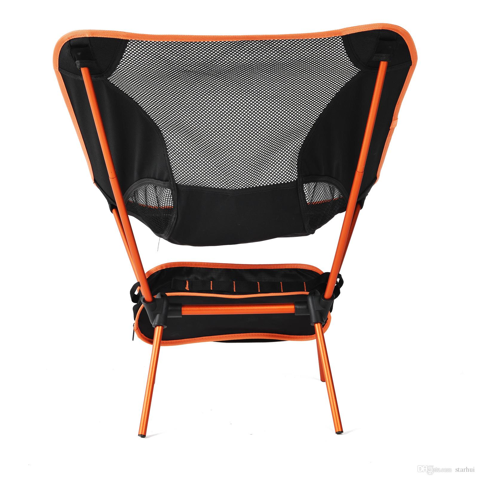 2019 Portable Folding Camping Backpack Chair Compact Heavy Duty Chairs For Hiking Picnic Beach Camp Backpacking Outdoor Festivals Wx9 660 From
