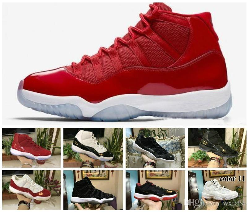 official photos f9534 6475d Kids Gym Red XI 11 Toddler shoes Bred Space Jam Basketball Sneaker Concord  Gamm Blue New Born Baby Infant 11s Shoes