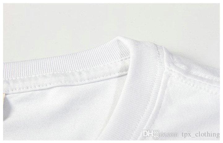 Camicia attesa Camicie manica corta Totoro Breaking Bad indumento T-shirt unisex Colorfast stampa abbigliamento Tshirt modal color puro